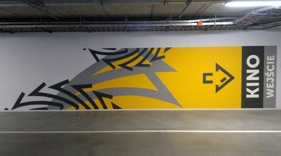 Parking podziemny - Galeria Brama Mazur - KolorArt